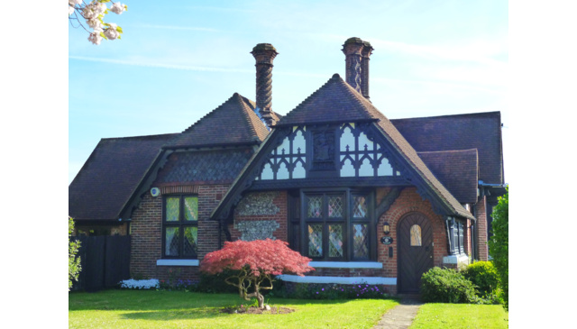 19th Century Tudor Style Cottage