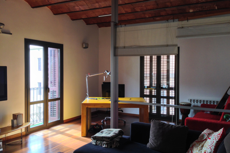Newly renovated 1BR loft