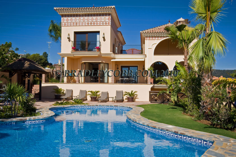 5 Bedroom Luxury Villa With Pool Marbella Malaga Love Home Swap