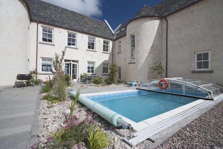Stunning Architect Designed Classical Scottish Mansion, Pool and Hot Tub